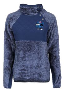 Quilted Fleece Pullover
